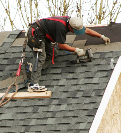 New Roofs and Roof Repairs in Vernon